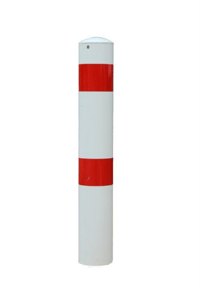 Absperrpfosten Ø 108 mm - feststehend oder herausnehmbar