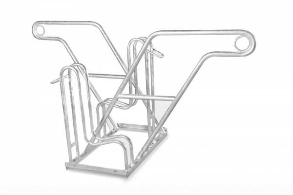 Fahrradständer Sirius mit Anlehnbügel - zweiseitig