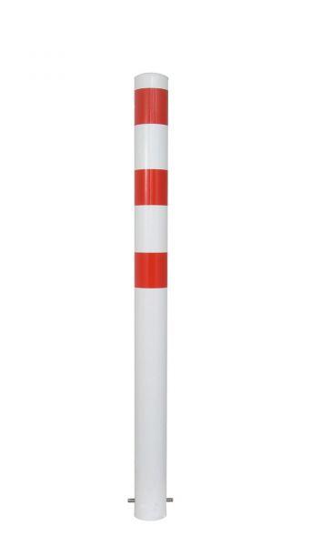 Absperrpfosten Ø 102 mm - feststehend oder herausnehmbar
