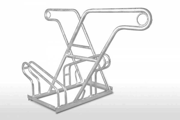 Fahrradständer Ohio mit Anlehnbügel - zweiseitig