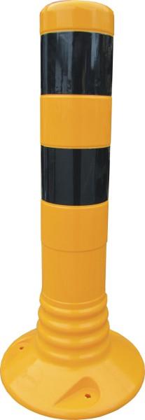 Flexibler Kunststoffpfosten Ø 80 mm - selbstaufrichtend