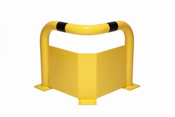 Eck-Rammschutzbügel mit Unterfahrschutz