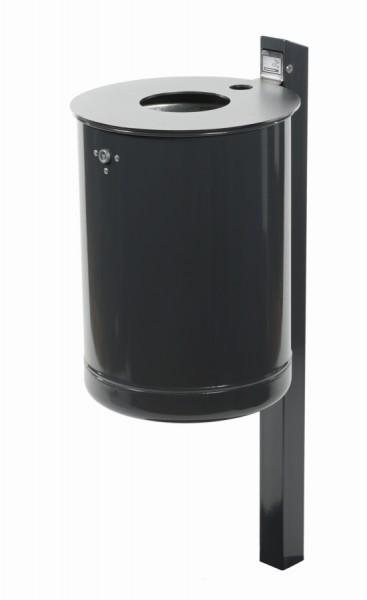 Abfallbehälter Halma inkl. Quadratrohrpfosten