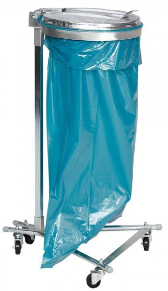 Abfallsammler / Müllsackständer - für 120 Liter Abfallsäcke - fahrbar