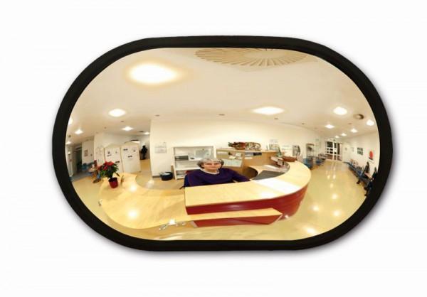 Raumspiegel Indoor - oval