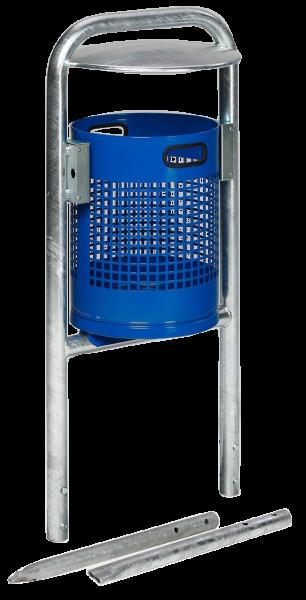 Abfallbehälter AG 06 07 mit Schutzdach