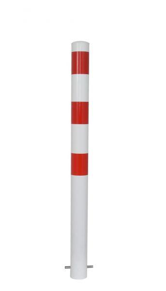 Absperrpfosten Ø 89 mm - feststehend oder herausnehmbar