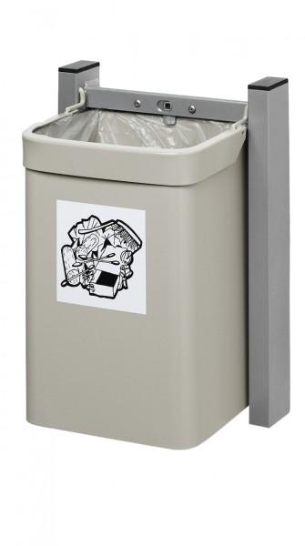 Abfallsammler City - Inh. 15 Liter - zur Wandbefestigung