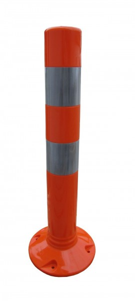 Flexibler Kunststoffpfosten Ø 100 mm - selbstaufrichtend